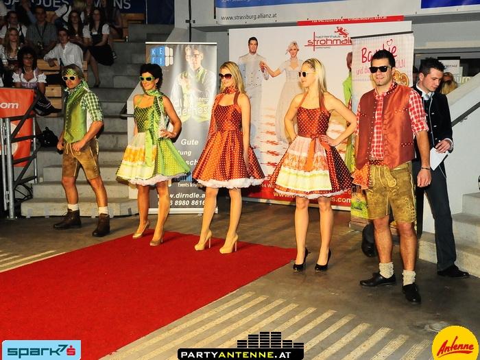 Modeschau bei Drindl meets Lederhosn